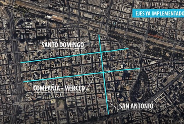 We are remodeling Santa Rosa and Mac Iver to prioritize bus and pedestrian traffic